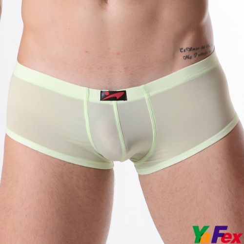 Men's Low-Rise Boxers (Ping 3709) - Green